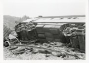 Canadian National Railways Kitselas wreck, April 26, 1969 (descriptions6257)