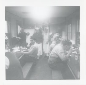 Canadian National Railways employees eating (descriptions6267)