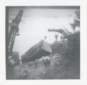 Canadian National Railways derailment, removing train car f… (descriptions6279)