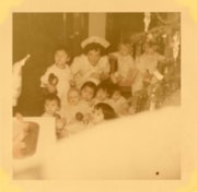 Bulkley Valley District Hospital Christmas, nurse with chil… (descriptions6318)