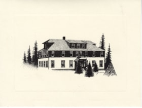Central Park Building, Smithers, B.C., card (descriptions6584)