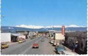 Smithers Main Street postcard (descriptions6583)