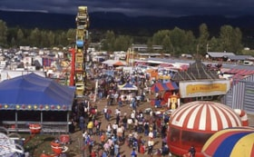 Midway at Fall Fair, 1984 (descriptions6805)