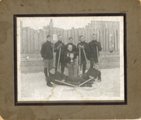 Smithers hockey team photo, champions of northern B.C. (descriptions6879)