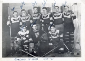 Smithers All-Stars hockey team in Prince George (descriptions8002)