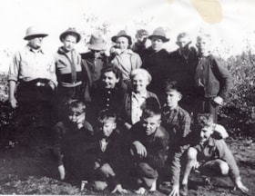 Smithers boys camping at Babine Lake, Topley Landing (descriptions9014)