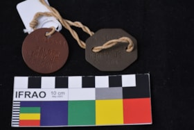 Armband and Dog tags (artifacts38)