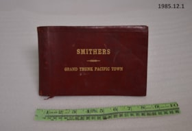 Smithers Grand Trunk Pacific Photo Album Case (artifacts3810)