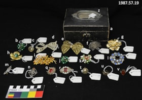 Jewellery Box and Jewellery (artifacts3185)