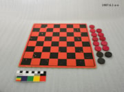 Checkers and Checker Board (artifacts797)