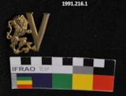 Victory Lapel Pin (artifacts3188)