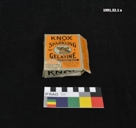 Gelatine Packaging (artifacts1126)
