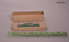 Paper model boat case (artifacts1851)