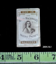 The Flora MacDonald Needle Packet (artifacts1916)