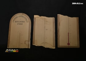 Church Improvement Thermometer (artifacts1931)