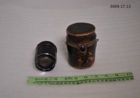 Camera lens and case (artifacts2265)