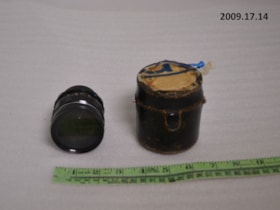 Camera lens and Case (artifacts2266)