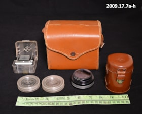 Camera case and supplies (artifacts2274)