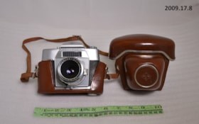 35mm Camera and Case (artifacts2275)
