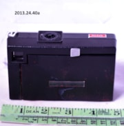 Kodak Instamatic X-35 Camera and Case (artifacts3062)