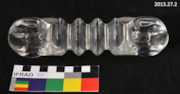 7 inch Pyrex Radio Strain Insulator (artifacts3131)