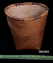 Birch Bark Basket (artifacts3362)