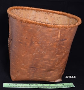 Birch Bark Basket (artifacts3431)