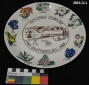 Commemorative Plate (artifacts4313)