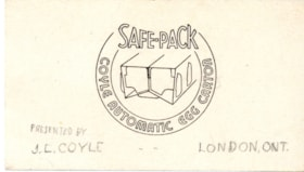 Ephemera, egg-safety carton (descriptions5569)